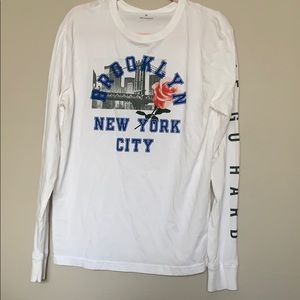 Brand new men's oversized longsleeve